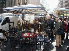 Via Sannio Flea Market, Rome.  Mon-Friday, 8am-2pm. clothes, shoes, vintage