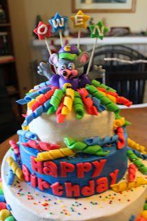 Chuck E Cheese Birthday Cake Its Just Cake Pinterest