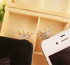 Crystal Princess Tiara Cell Phone Topper. Add this gadget to your iPhone. Check it out.
