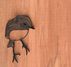 #laser bird / laser cut / wood