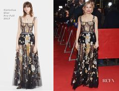 Sienna Miller In Christian Dior – 'The Lost City of Z' Berlin Film Festival Premiere