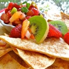 Annies Fruit Salsa and Cinnamon Chips - Allrecipes.com