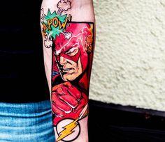 Flash tattoo by Barbara Kiczek