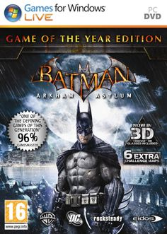 Batman: Arkham Asylum Free Download Link: http://www.directdownloadstuffs.com/batman-arkham-asylum-pc-game-iso-direct-links/