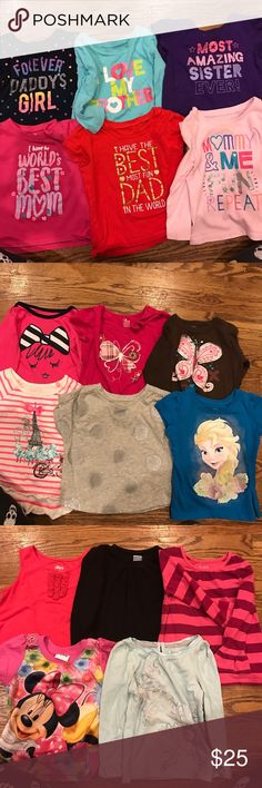17 tops 18 to 24 months Great condition Shirts & Tops