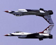 US Air Force Thunderbirds F-16