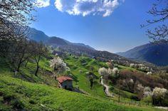 Valmara Switzerland, Places To Visit, Hiking, Country Roads, Mountains, Nature, Travel, Walks, Naturaleza