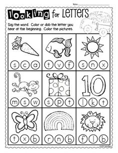 111 Best Pre-k Homework images in 2019 | School, Kindergarten ...