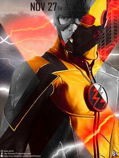 Crisis on Earth-X The Flash poster by BoomArt16