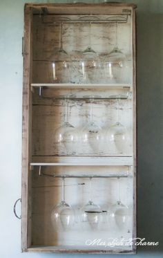 Mes objets de charme Furniture Makeover, Bathroom Medicine Cabinet, Shabby Chic, Country, House, Home Decor, Ideas, Recycling, Objects