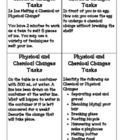 Physical and Chemical Changes *Quiz, Activity Cards, & Study Guide*