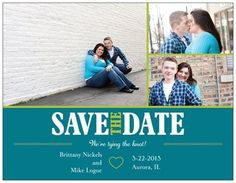 Our save the dates :)