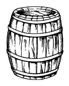 Image result for whisky barrel cartoon