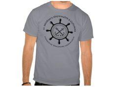 Saint Brendan's Shipwrights, Style is Basic T-Shirt, color is Grey St Brendan, Irish Design, Grey, Mens Tops, T Shirt, Color, Style, Gray, Supreme T Shirt