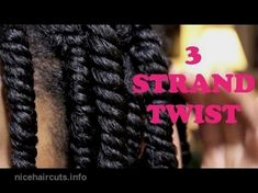 How to Three Strand Twist Natural Hair Styles two strand twist styles for short natural hair Natural Hair Twists, Natural Hair Care, Natural Hair Styles, Natural Hairstyles For Kids, Twist Hairstyles, Black Hairstyles, Curly Hairstyles, Hairstyles 2016, Trending Hairstyles
