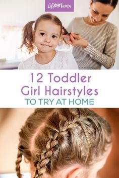 Toddler hair can be difficult to style. We& found some adorable toddler girl hairstyles that are perfect for your little girl. Basic Hairstyles, Easy Little Girl Hairstyles, Kids Braided Hairstyles, Cute Hairstyles, Children Hairstyles, Toddler Hairstyles, Braids For Kids, Cute Little Girls, Hair Inspiration