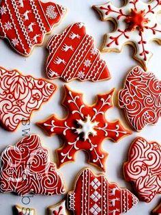 #Christmas #gingerbread #cookies ToniK ℬe Meℜℜy sweetambs.com