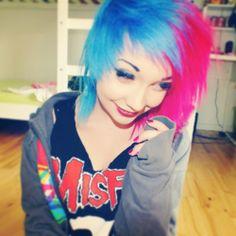 Cerise, Lagoon Blue  Directions hair coloring balm  http://www.fantasmagoria.eu/accessories/cosmetics-makeup/hair-color #hair dye