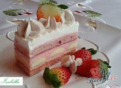 Luxusní zákusek DALMATIN   NejRecept.cz High Sugar, Czech Recipes, Thing 1, Vanilla Cake, Nutella, Cheesecake, Pudding, Cookies, Gluten