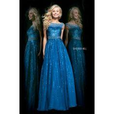 Sherri Hill 8531 Royal Blue Prom Dress