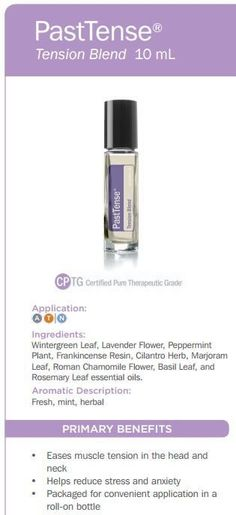 Here you can learn about doTERRA Past Tense essential oil uses. I explain all about PastTense and all the ways you can use it and how to use it. Essential Oils For Massage, Best Essential Oils, Essential Oil Uses, Pure Essential, Doterra Blends, Doterra Essential Oils, Past Tense Doterra, Peppermint Plants, Aromatherapy Recipes