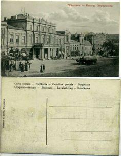 Warszawa Resursa Obywatelska 1910r. W.Skiba Vintage postcard, Alte postkarte aus…