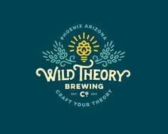 Wild Theory Brewing Logo by Jared Jacob