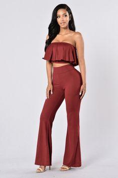 b43a6b39b745b Just Dance Set - Burgundy. Posh ShopHot Miami StylesFashion PosesFashion  OutfitsWomens ...