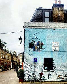 A corner of winter in London