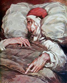 Don Quijote de la Mancha, acuarelas de Salvador Tusell, basadas en Gustave Doré…