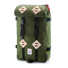 TOPO OLIVE KLETTERSACK BACKPACK - THE LODGE  - 11