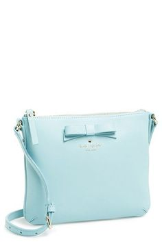 kate spade new york 'tallow court - tenley' leather crossbody bag (Nordstrom Exclusive) available at #Nordstrom