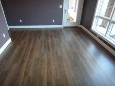 Luxury vinyl plank flooring, it seems incredible but it's happening. New trend in floor covering is vinyl. Perhaps it is this material is not first thing that Vinyl Wood Planks, Wood Plank Flooring, Linoleum Flooring, Wood Vinyl, Wood Laminate, Flooring Ideas, Hardwood Floors, Home Design, Küchen Design