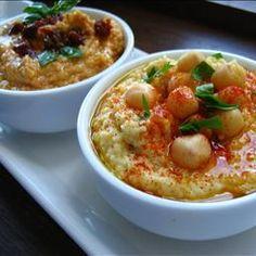 Hummus Dip Two Ways