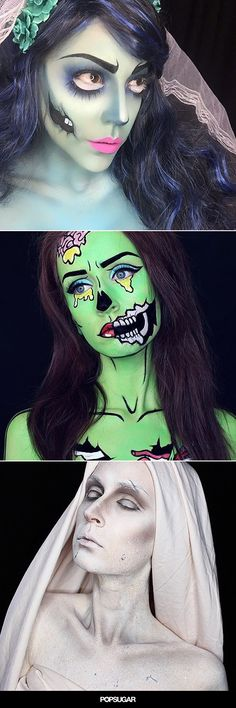 36 Mind-Blowing Ways to Use Body Paint This Halloween