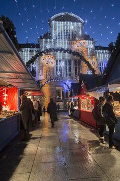 Le Grand Théâtre d' #Angers sous les étoiles de #Soleilsdhiver