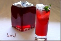 Pahar cu sirop de cirese Recipe Images, Cherry, Pudding, Drinks, Desserts, Recipes, Amazing, Food, Syrup