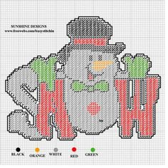 """SNOW"" MAN by SUNSHINE DESIGNS -- WALL HANGING                                                                                                                                                                                 More"