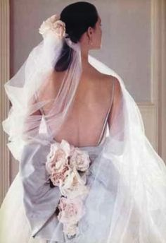 christian dior wedding dress, photographed by Wendi Schneider, styled by Marlene Weatherell, editor, Tricia Foley for Victoria Magazine