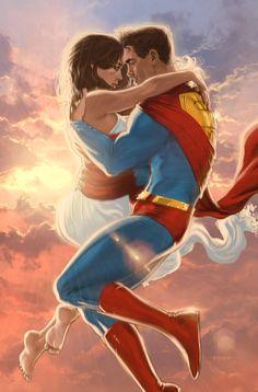 """You put the Smallville in Smallville, Smallville. (Superman/Lois Lane, Batman/Catwoman, and. Wonder Woman Y Superman, Superman Love, Superman And Lois Lane, Superman Family, Superman Man Of Steel, Superman Stuff, Superman Art, Superman News, Batman"