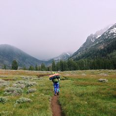 Backpacking in Kennedy Meadows, CA
