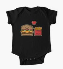 Burger and Fries by fishbiscuit