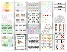 Custom worksheets, teaching resources, printable games and manipulatives.