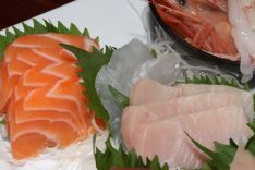 3. House Special Sashimi Plate - assortment with quality and variety seasonal price $80.00