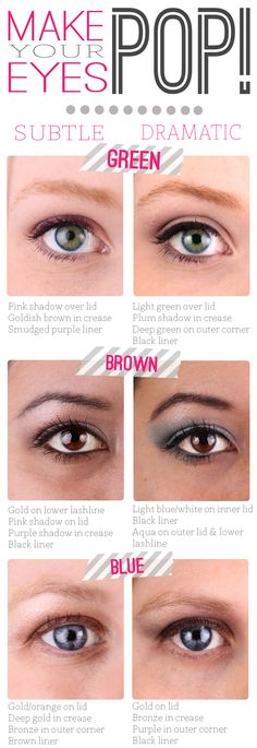 Makeup Tip: Make Your Eye Color Pop