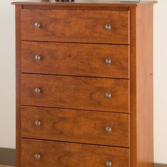 None   Chelsea Cherry 5 Drawer Chest   No Bedroom Is Complete Without A  Chest