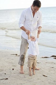Matching Outfits For Daddy and Son