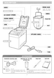 Hitachi Bread Machine Manual Recipes (Original: HB-B201