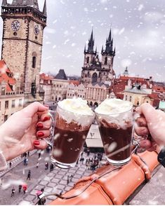 Prague: 5 Most Magical Places Places To Travel, Travel Destinations, Happy Sunday Quotes, Old Town Square, Christmas Aesthetic, Photo Instagram, Travel Pictures, Travel Pics, The Places Youll Go