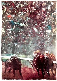 Bernie Fuchs illustration for Sports Illustrated, May 1976